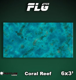 Frontline-Gaming FLG Mats: Coral Reef 6x3'