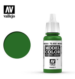 Vallejo Model Color: Matte- Medium Olive, 17 ml.