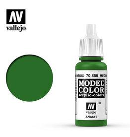 Vallejo Model Color: Matte- Medium Olive, 17 ml.