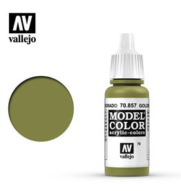 Vallejo Model Color: Matte- Golden Olive, 17 ml.