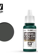 Vallejo Model Color: Matte- Ger. Cam. Extra Dark Green, 17 ml.