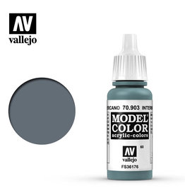 Vallejo Model Color: Matte- Intermediate Blue, 17 ml.