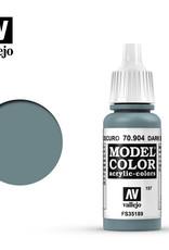 Vallejo Model Color: Matte- Dark Blue Grey, 17 ml.