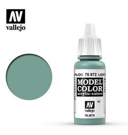 Vallejo Model Color: Matte- Light Green Blue, 17 ml.