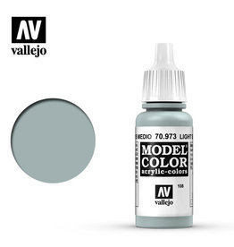 Vallejo Model Color: Matte- Light Sea Grey, 17 ml.