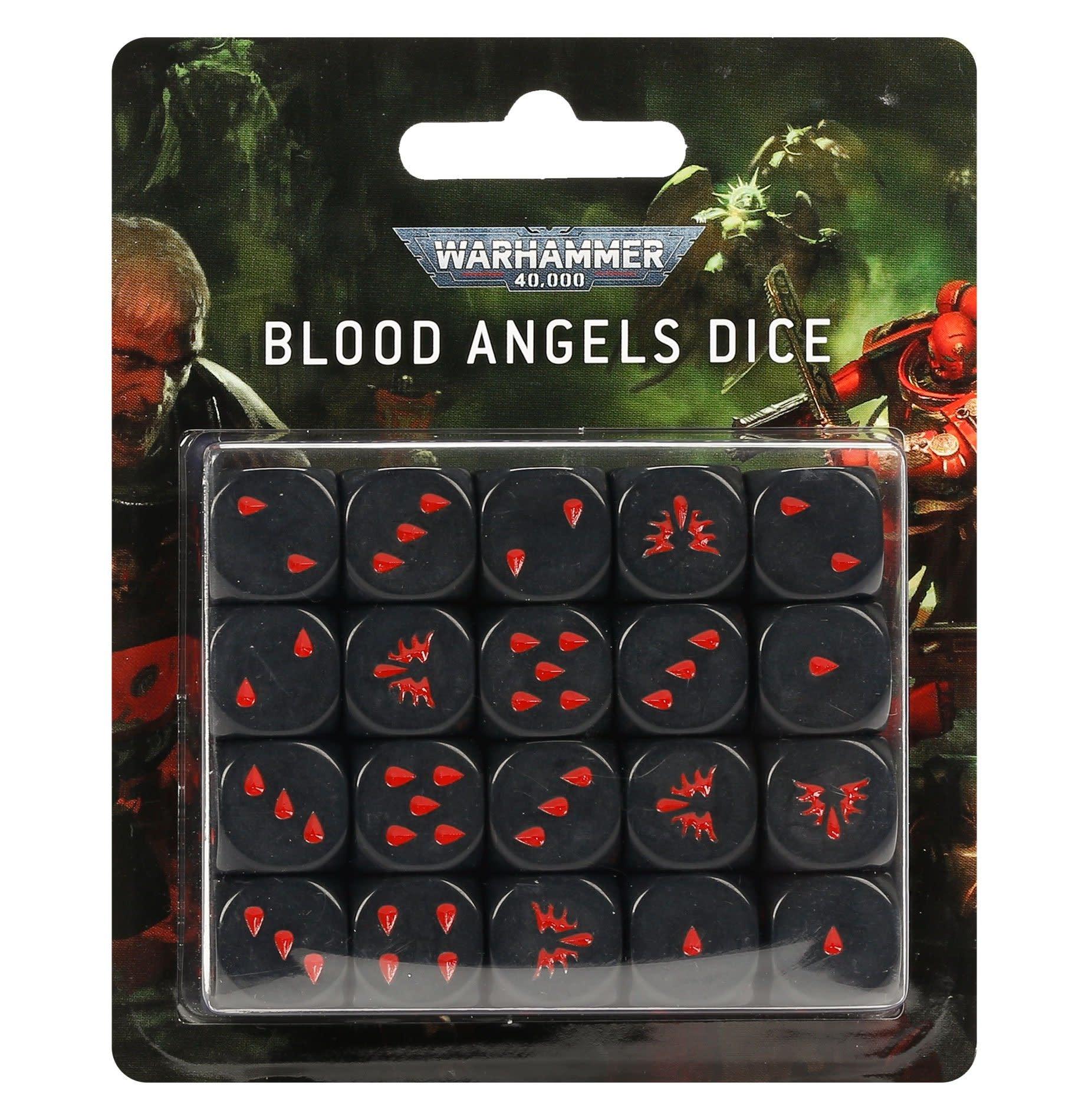 Games-Workshop Blood Angels Dice Set