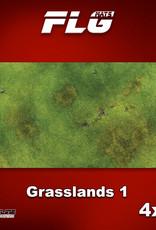 Frontline-Gaming FLG Mats: Grasslands 4x8'
