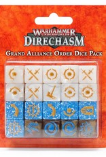Games-Workshop Grand Alliance Order Dice Pack