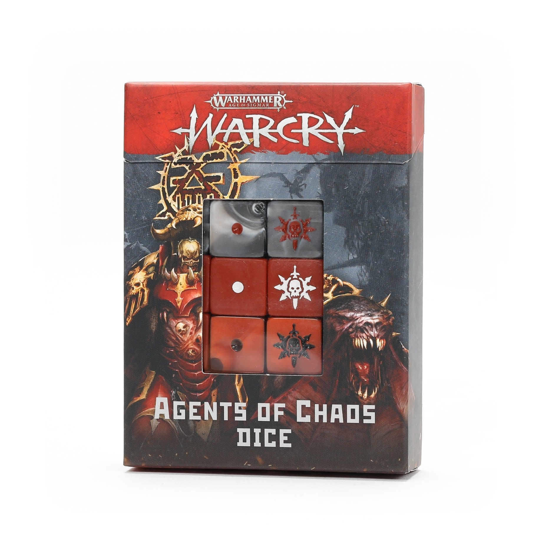 Games-Workshop Warcry: Agents of Chaos Dice