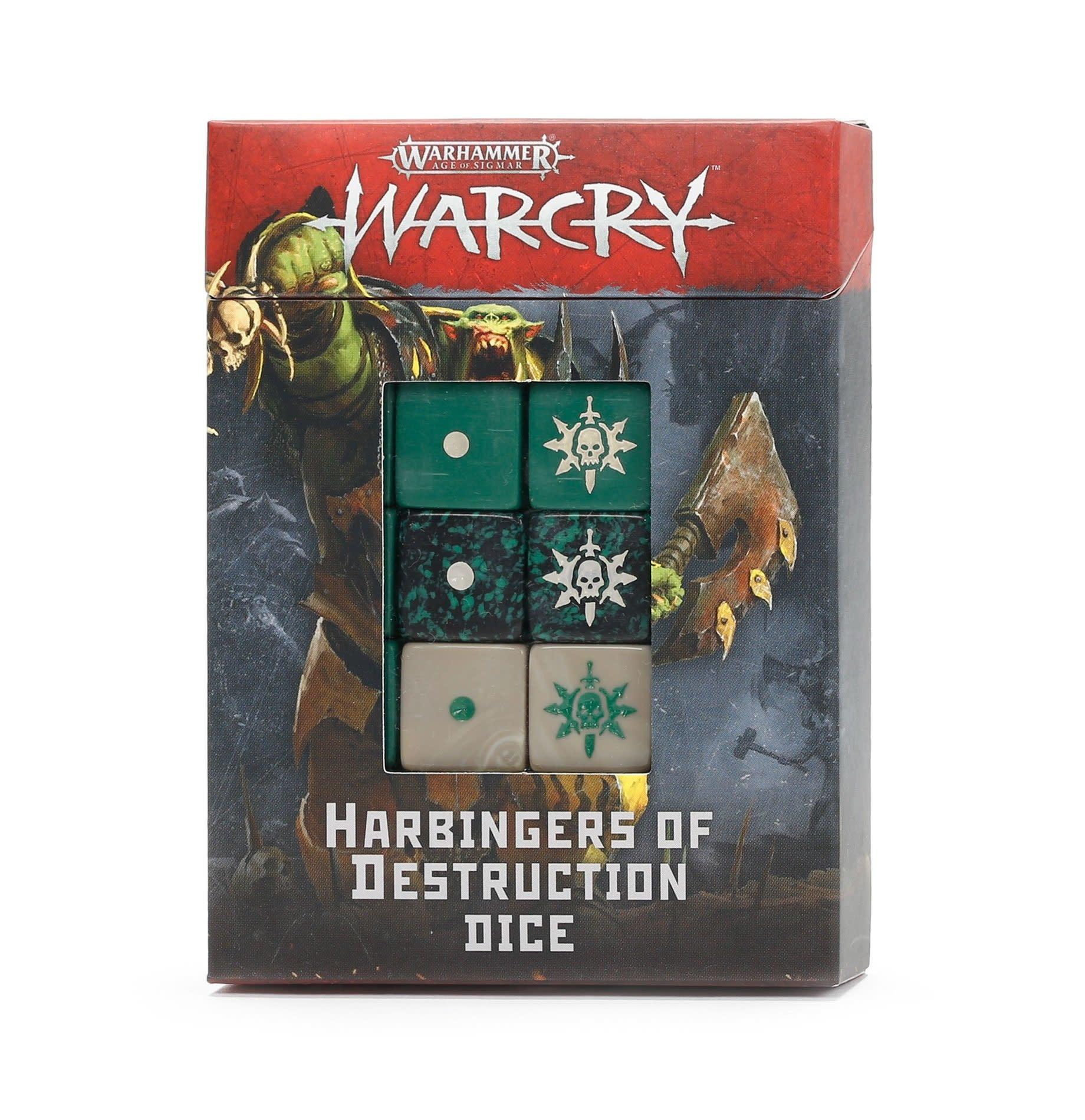 Games-Workshop Warcry: Harbingers of Destruction Dice