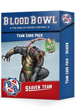 Games-Workshop Blood Bowl Skaven Team Card Pack