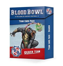 Games-Workshop Blood Bowl Skaven Team Card Pack