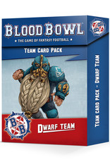 Games-Workshop Blood Bowl Dwarf Team Card Pack