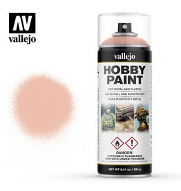 Vallejo Primer: Hobby Paint- Fantasy Color- Aerosol- Pale Flesh, 400 ml.