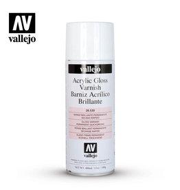 Vallejo Varnish: Aerosol- Gloss Varnish, 400 ml.