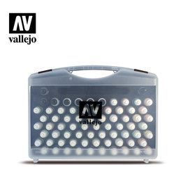 Vallejo Model Color Case: 72 Military Colors + Brushes 17 ml.