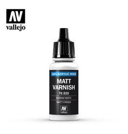 Vallejo Varnish: Permanent Mat Varnish, 17 ml.