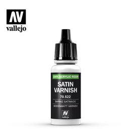 Vallejo Varnish: Permanent Satin Varnish, 17 ml.