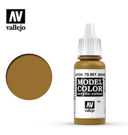 Vallejo Model Color: Matte- Brass, 17 ml.
