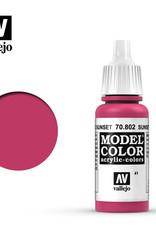 Vallejo Model Color: Matte- Sunset Red, 17 ml.