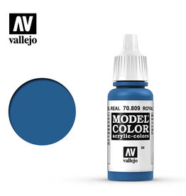 Vallejo Model Color: Matte- Royal Blue, 17 ml.