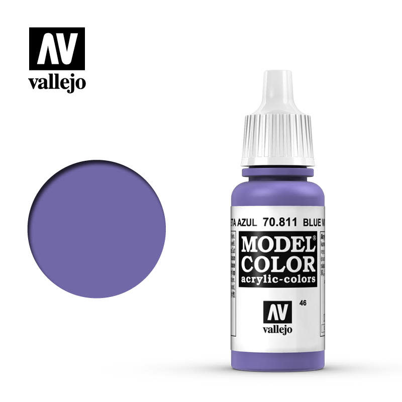 Vallejo Model Color: Matte- Blue Violet, 17 ml.