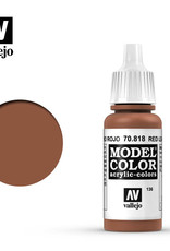 Vallejo Model Color: Matte- Red Leather, 17 ml.