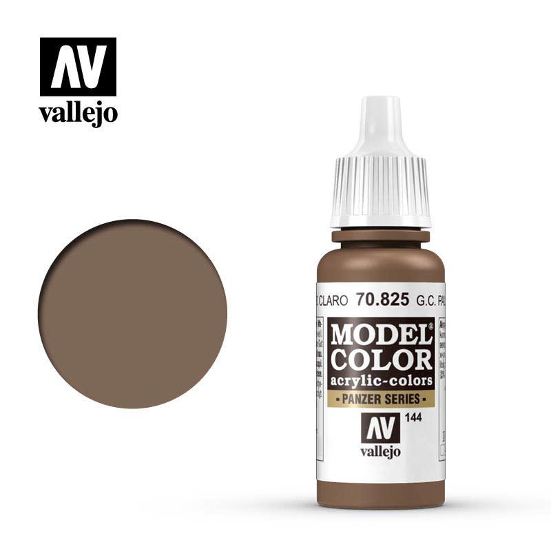 Vallejo Model Color: Matte- German Cam. Pale Brown, 17 ml.