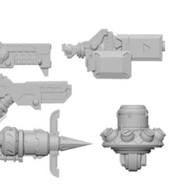 Privateer Press Warcaster: Dusk Wolf B Weapon Pack – Marcher Worlds Pack