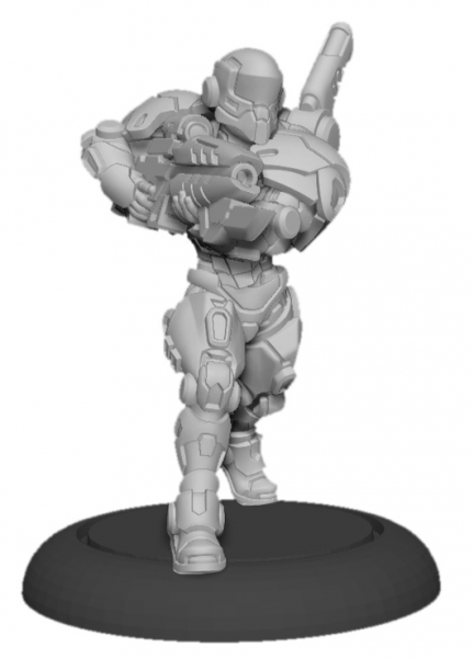 Privateer Press Warcaster: Paladin Enforcers – Iron Star Alliance Squad (x3)