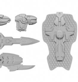 Privateer Press Warcaster: Firebrand A Weapon Pack – Iron Star Alliance Pack