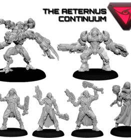 Privateer Press Warcaster: Aeternus Continuum Command Group Starter Set