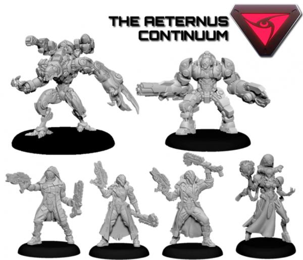 Privateer Press Warcaster: Aeternus Continuum Command Group Starter Set