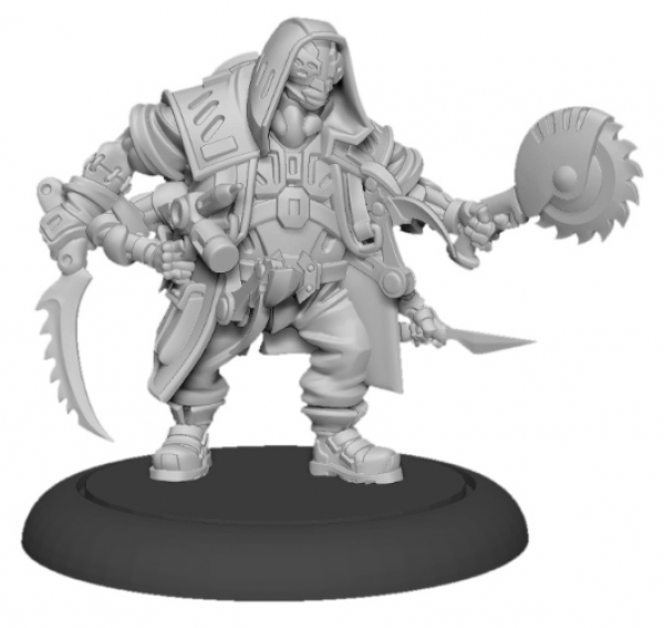 Privateer Press Warcaster: Grafter – Aeternus Continuum Solo