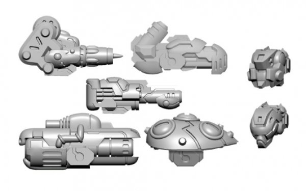 Privateer Press Warcaster: Scourge B Weapon Pack – Aeternus Continuum Pack