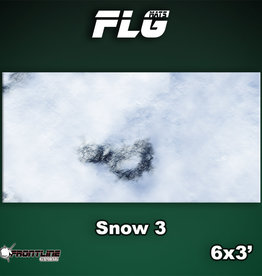 Frontline-Gaming FLG Mats: Snow 3 6x3'