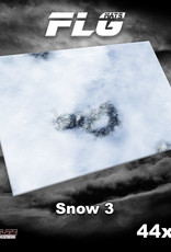 Frontline-Gaming FLG Mats: Snow 3 44 x 60""