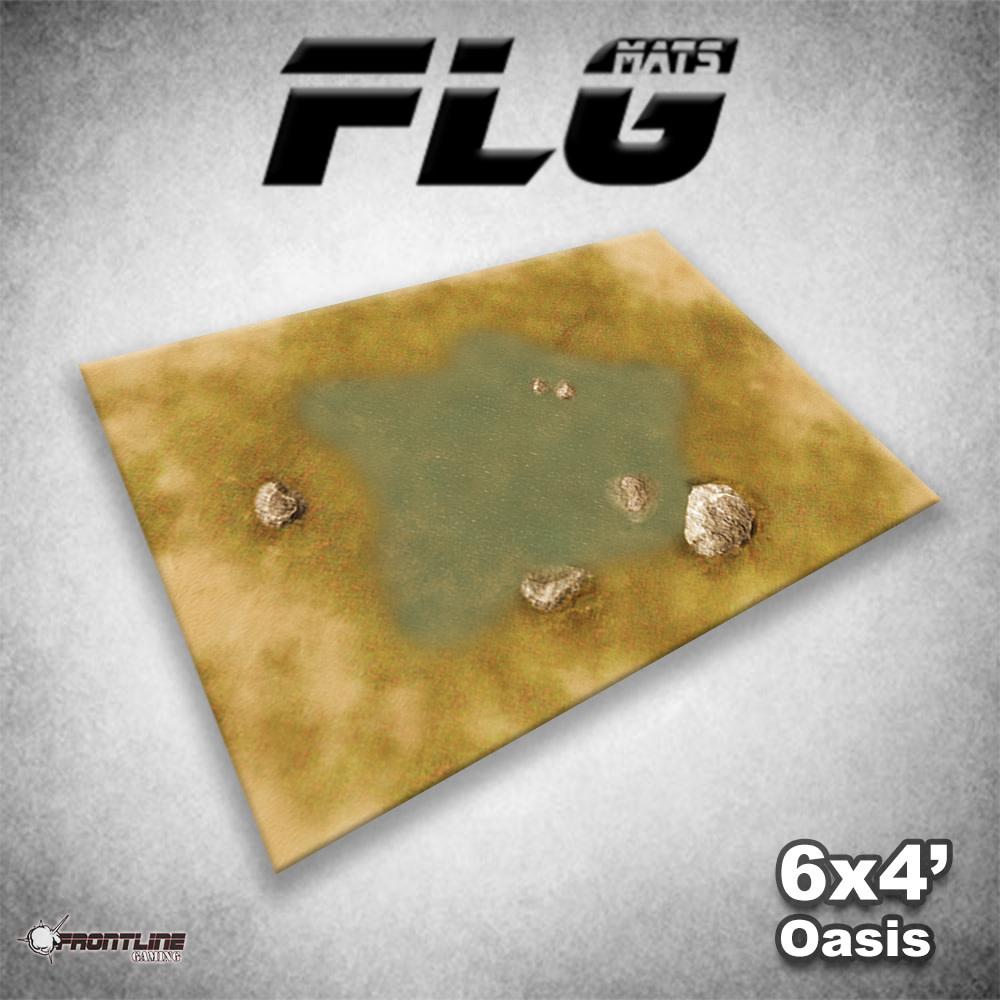Frontline-Gaming FLG Mats: Oasis 6x4'