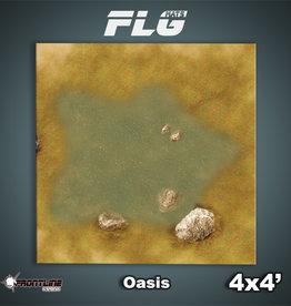 Frontline-Gaming FLG Mats: Oasis 4x4'