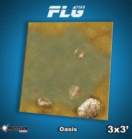 Frontline-Gaming FLG Mats: Oasis 3x3'