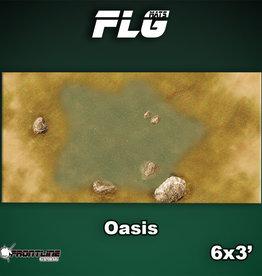 Frontline-Gaming FLG Mats: Oasis 6x3'