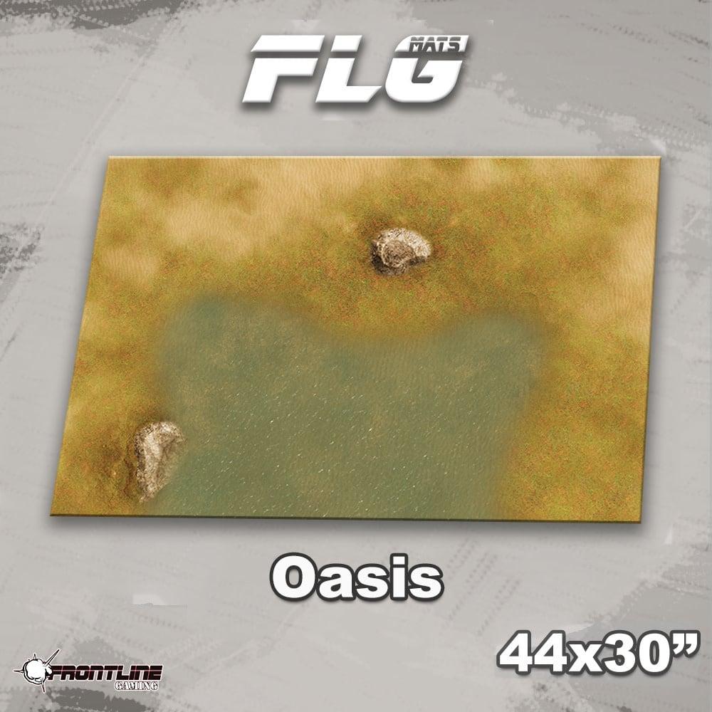 "Frontline-Gaming FLG Mats: Oasis 44"" x 30"""