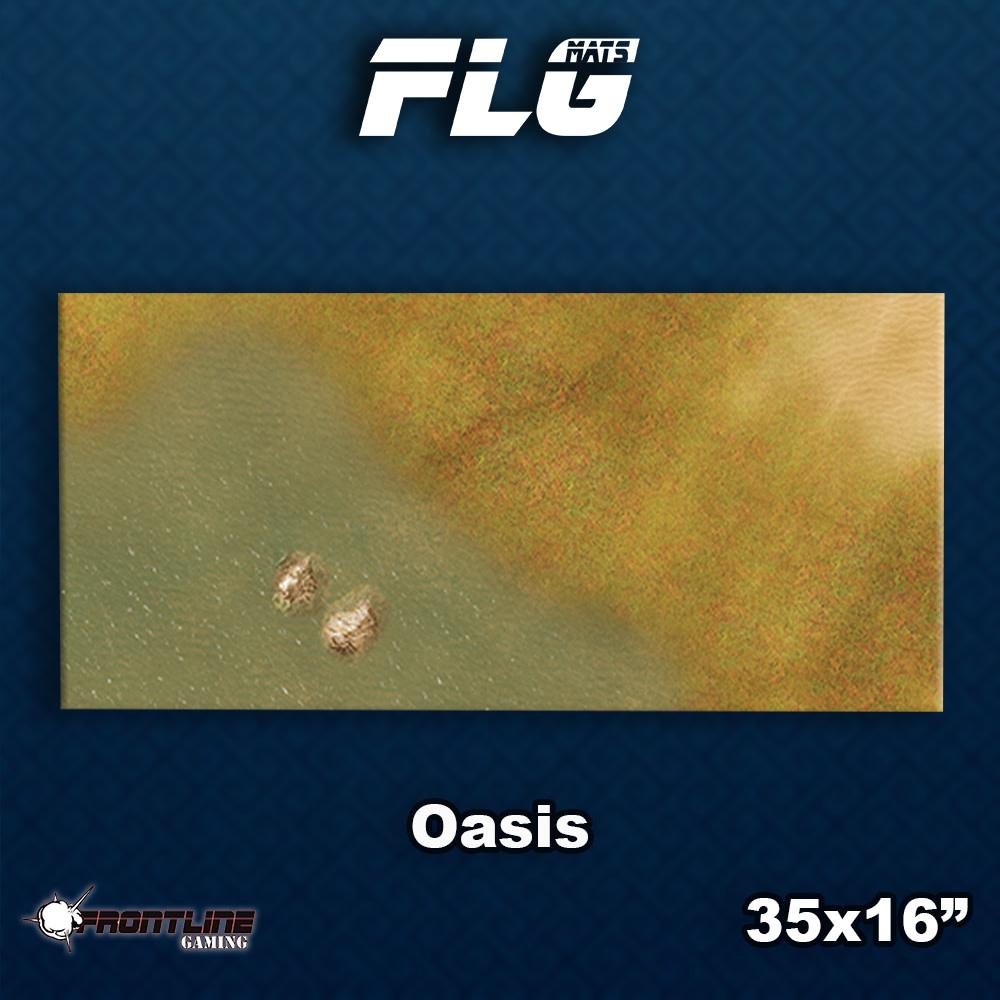 Frontline-Gaming FLG Mats: Oasis Desk Mat