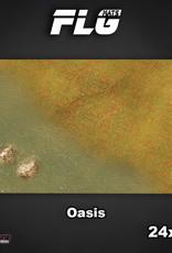 "Frontline-Gaming FLG Mats: Oasis 24"" x 14"""