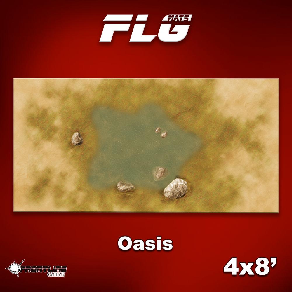 Frontline-Gaming FLG Mats: Oasis 4x8'