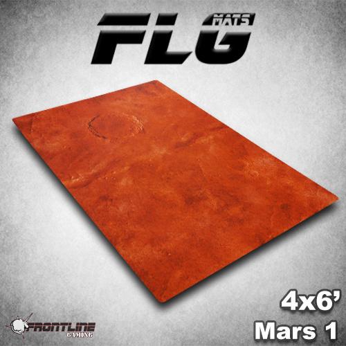Frontline-Gaming FLG Mats: Mars 1 6x4