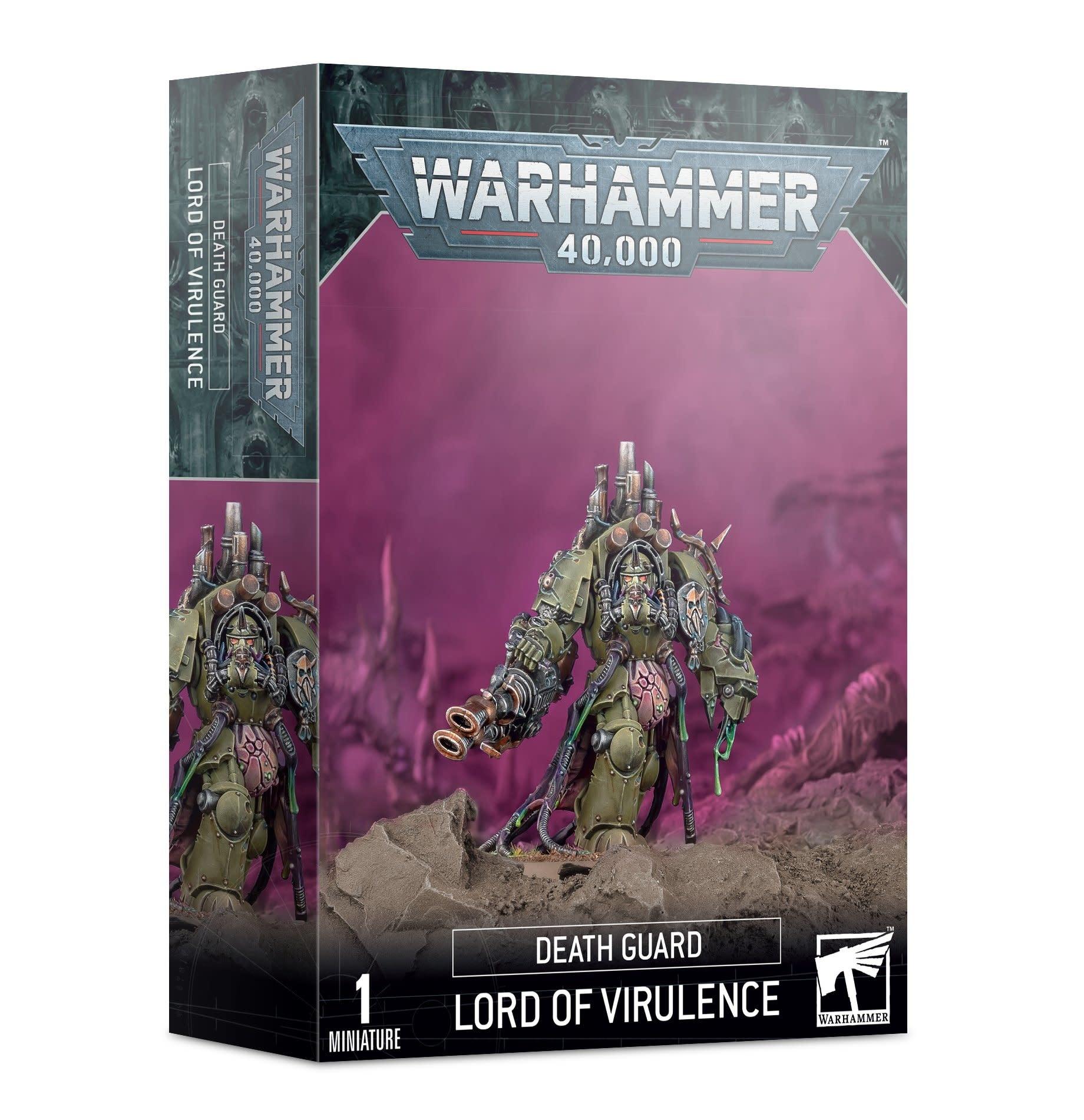 Games-Workshop Death Guard Lord of Virulence