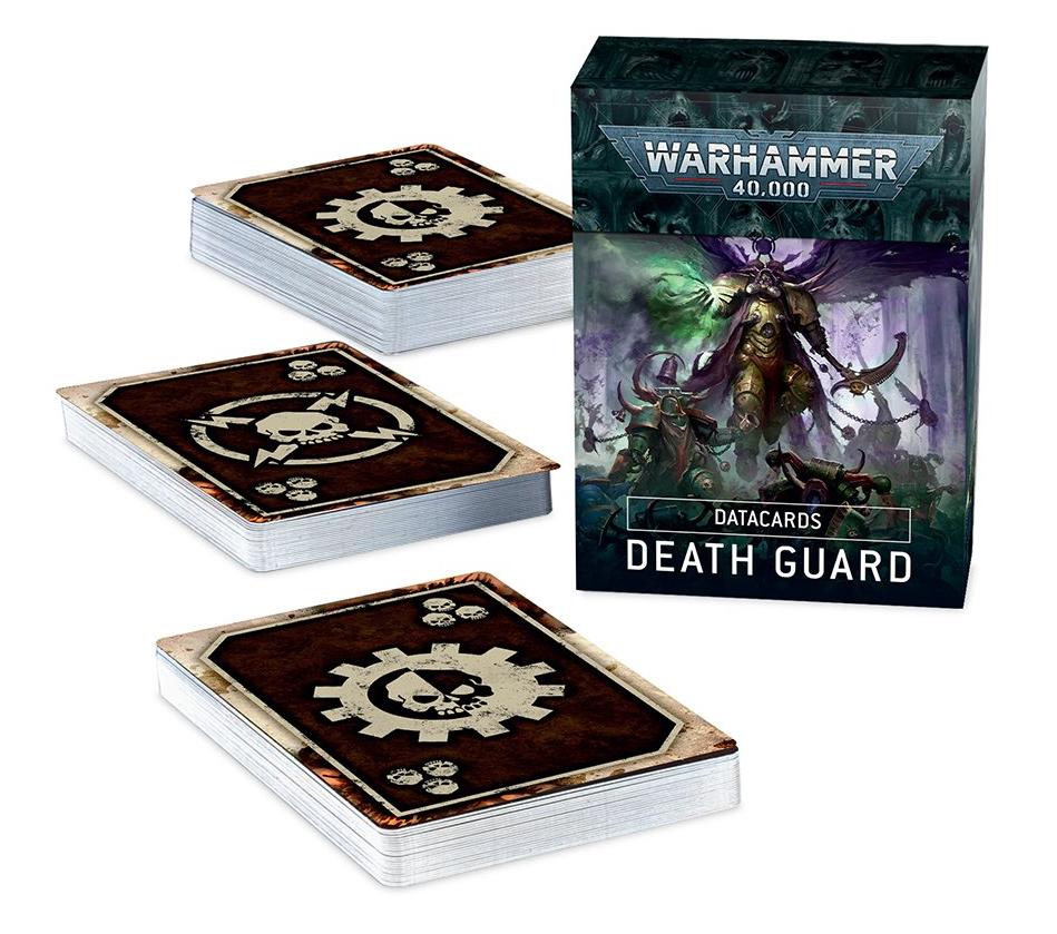 Games-Workshop Death Guard Datacards