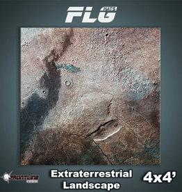 Frontline-Gaming FLG Mats: Extraterrestrial Landscape 4x4'