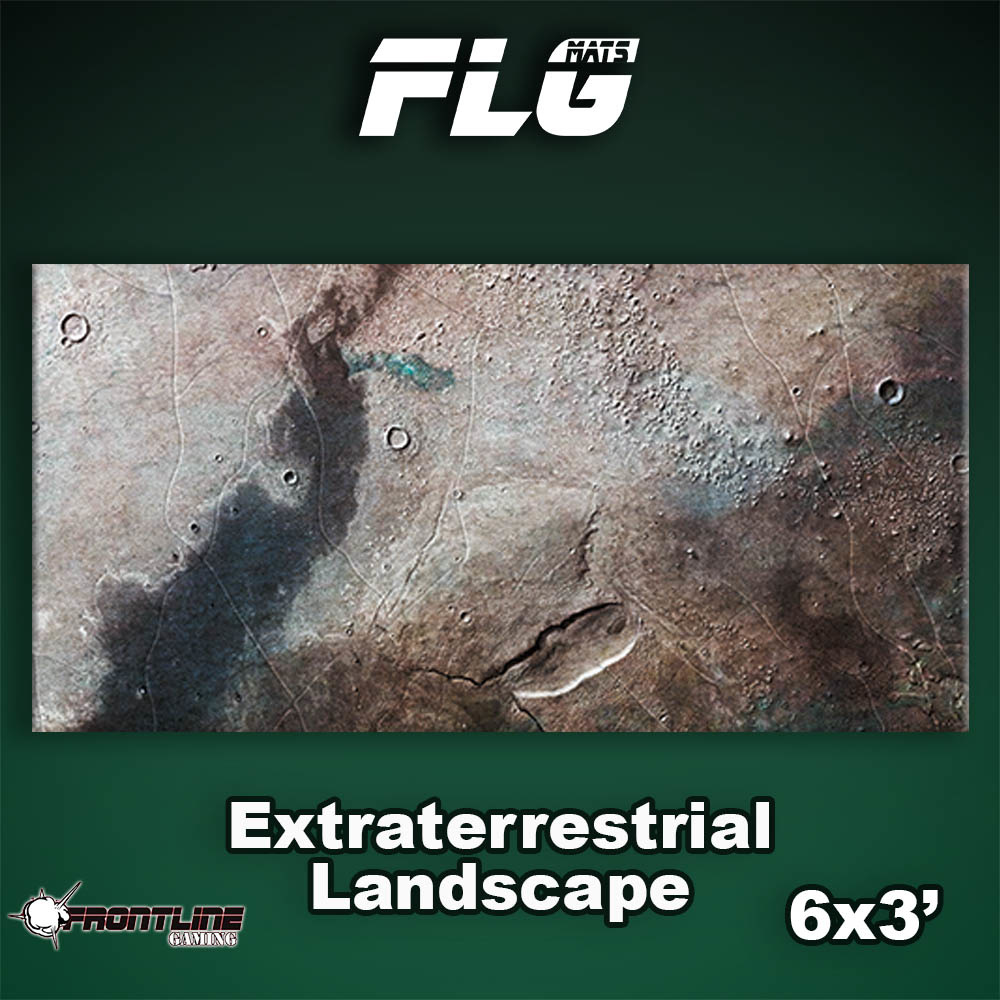 Frontline-Gaming FLG Mats: Extraterrestrial Landscape 6x3'